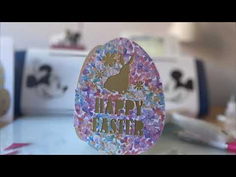 ScanNCut SDX 2200D EASTER CARD IN CANVAS