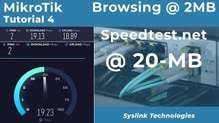 MikroTik Separate Bandwidth for SpeedTest | OOKLA (URDU/HINDI) screenshot 4