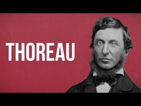 POLITICAL THEORY - Henry David Thoreau