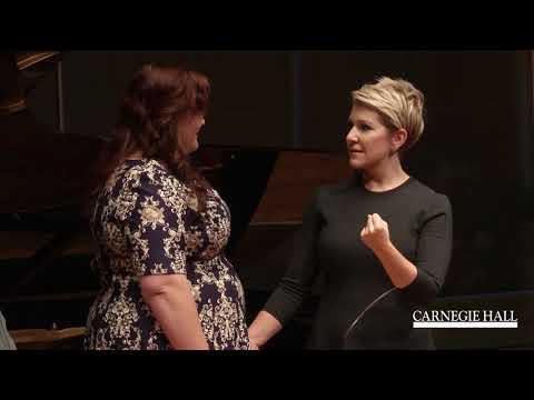 "Joyce DiDonato Master Class October 2016: Mozart's ""Non mi dir"" from Don Giovanni"