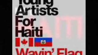 WAVING FLAG FOR HAITI