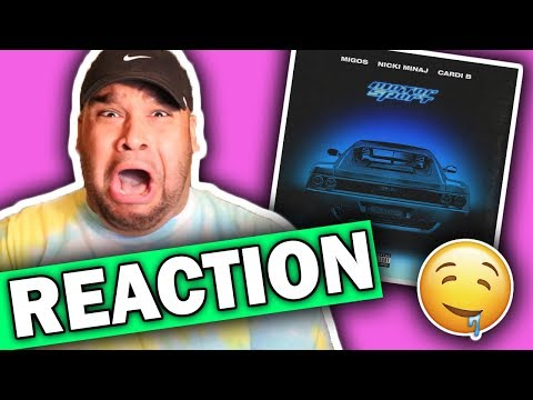 Migos ft. Nicki Minaj & Cardi B - Motor Sport [REACTION]