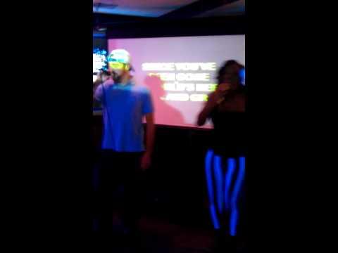 Chris yates and me picture karaoke