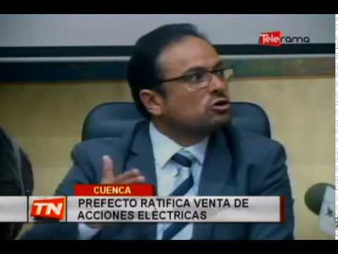 Prefecto ratifica venta de acciones eléctricas