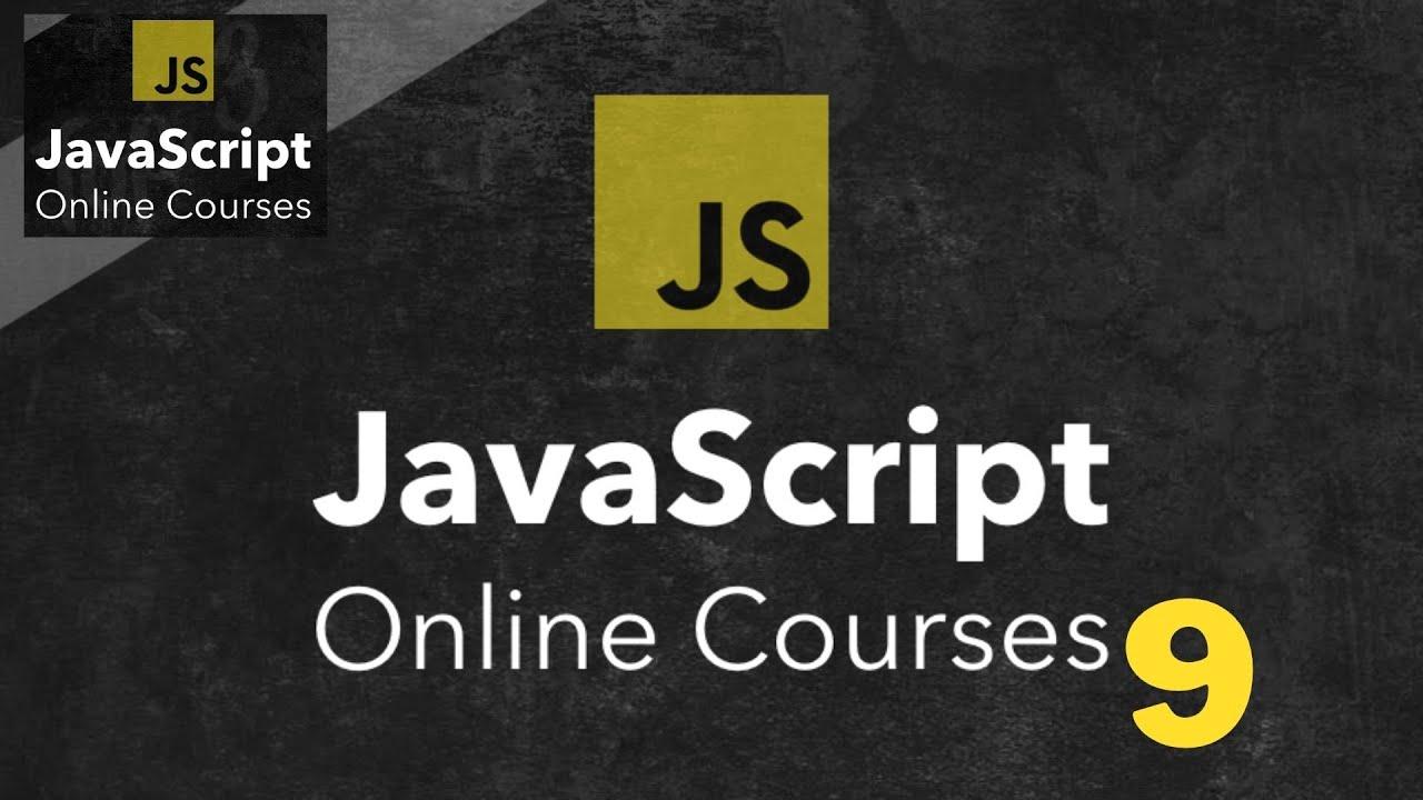 تعلم JavaScript في ساعة واحدة#javascript #9