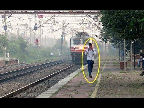 One More Idiot vs 150 KMPH Furious Bhopal Shatabdi Express Shatters Sholaka : Indian Railways