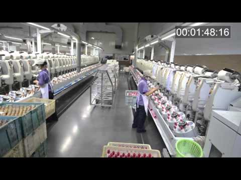 Corporate video for Kingdom China, world's largest linen producer