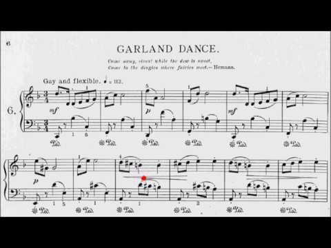 Con Brio Exam (CBE) Grade 3 Carroll Forest Fantasies No.6 Garland Dance Sheet Music
