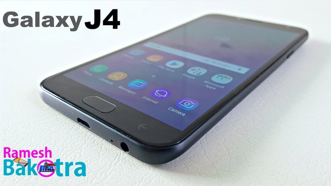 Samsung Galaxy J4 Unboxing And Full Review Youtube