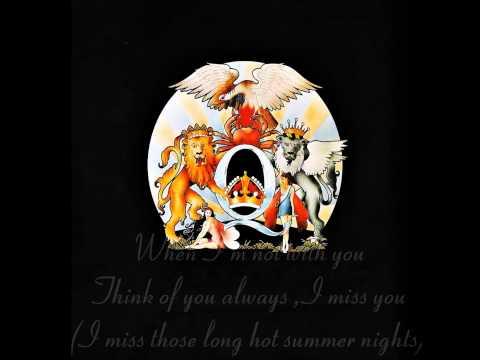 Queen - Good Old Fashioned Lover Boy - Lyrics