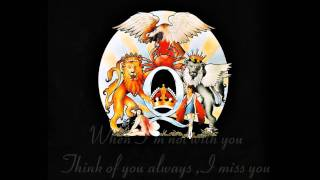 Queen - Good Old Fashioned Lover Boy - Lyrics