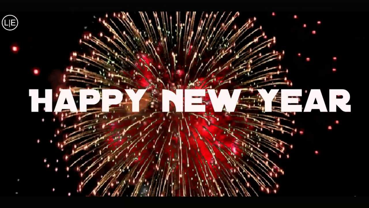 happy new year fireworks new years eve abba with lyrics youtube
