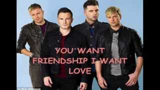 WESTLIFE YOU SEE FRIENDS ( I SEE LOVERS) LYRIC VIDEO