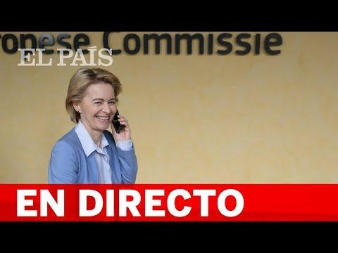 DIRECTO | La presidenta electa de la COMISIÓN EUROPEA, Von der Leyen, anuncia a sus comisarios