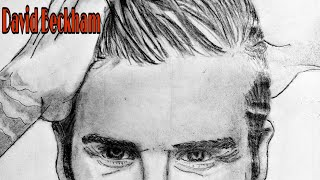 Desenho Realista David Beckham