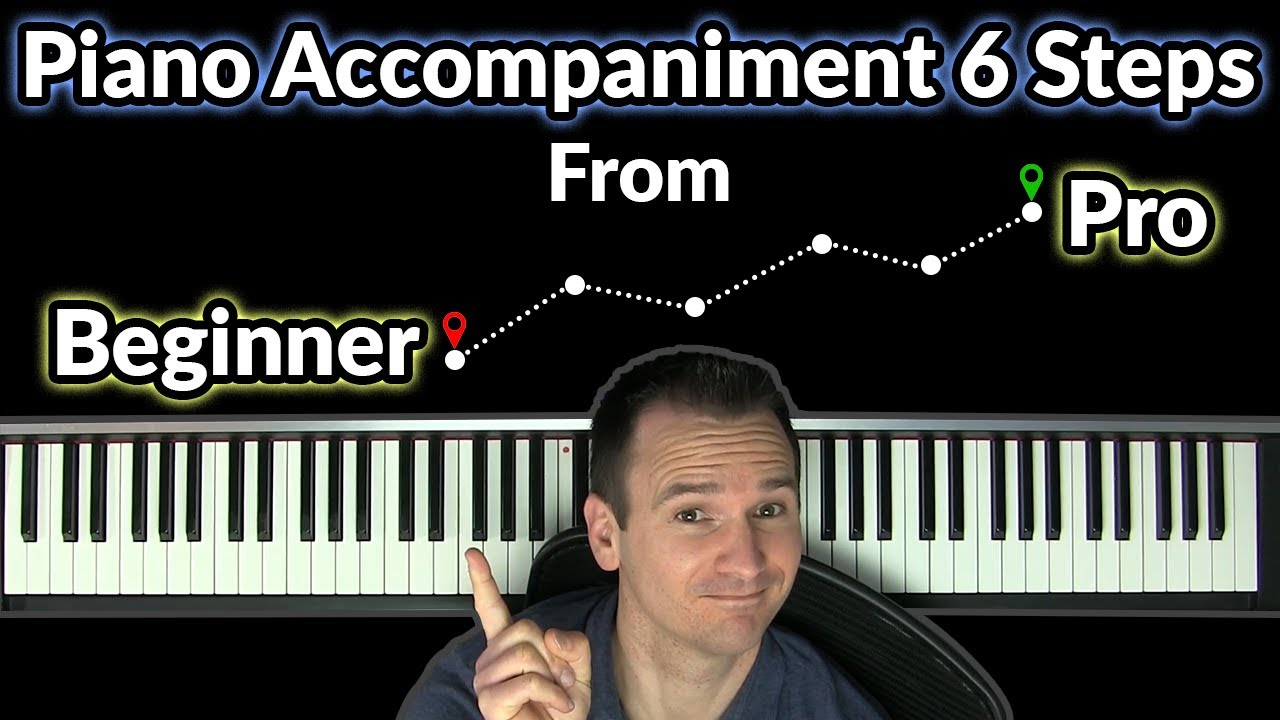 Download Piano Accompaniment 6 Steps from Beginner to Pro