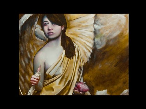 Grisaille classical oil painting demo - speed painting