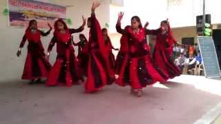 aayo re aayo re maro dolna - Karjisan Primary School Student Dance, 26 January 2014