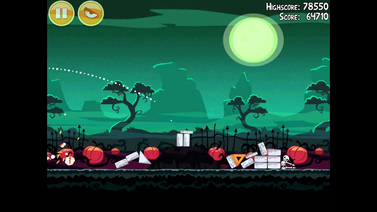 Angry Birds Seasons 2012 – Season 2: Halloween Ham'o'ween - Solutions and  tips for the game Angry Birds