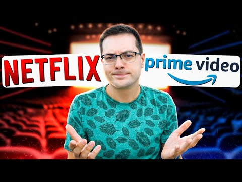 NETFLIX Vs AMAZON PRIME VIDEO! QUAL LEVA A MELHOR!? A BRIGA é GRANDE!