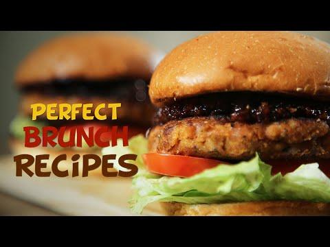 Perfect Brunch Recipes   Chicken Burger, Kheema Idli, Mutton Pepper Fry   Get Curried