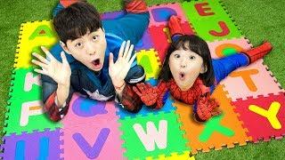 슈퍼히어로 마슈와 함께 ABC 알파벳 영어배우기! 인기동요 Superhero ABC Song Nursery Rhymes for kids! - 마슈토이 Mashu ToysReview