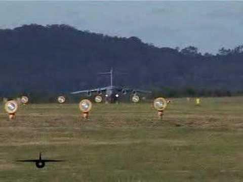 C-17 Takeoff Laguna del Sauce - Uruguay (SULS)