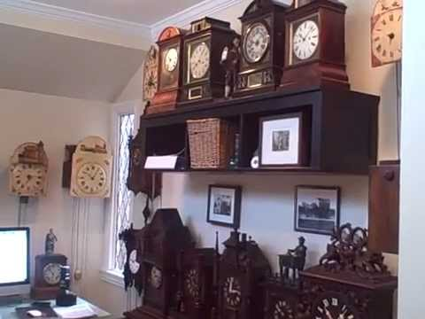 A Walk-through of a Private Collection of Rare Black Forest Clocks