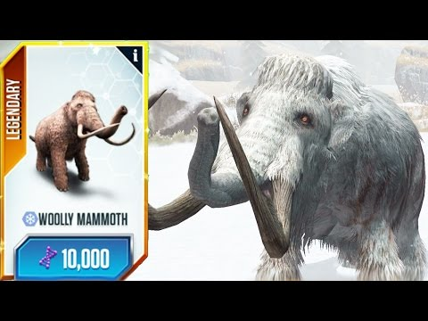 You Only Need One MAMMOTH - WOOLLY MAMMOTH TOURNAMENT | Jurassic World - The Game