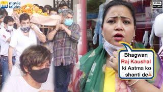 Comedian Bharti Singh's Touchy Reaction On Mandira Bedi's Hubby Raj Kaushal Passing Away 🙏🙏