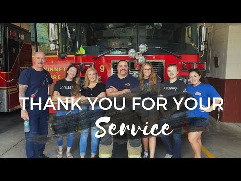 Thanking First Responders | Thank you for your service!