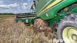 Harvest in the mud // John Deere S560