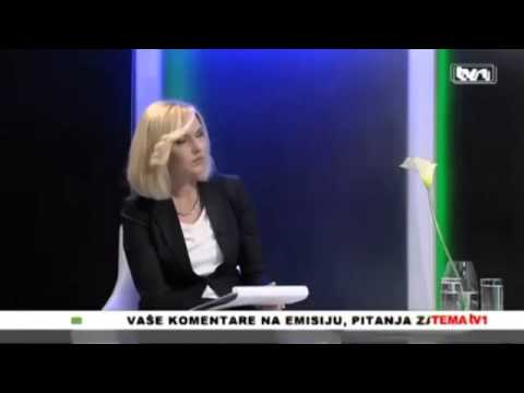 Shocking statement Bosnian Federal Minister on the television show with translation