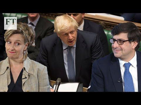 Brexit: Is Boris Johnson splitting the Tory party? | FT