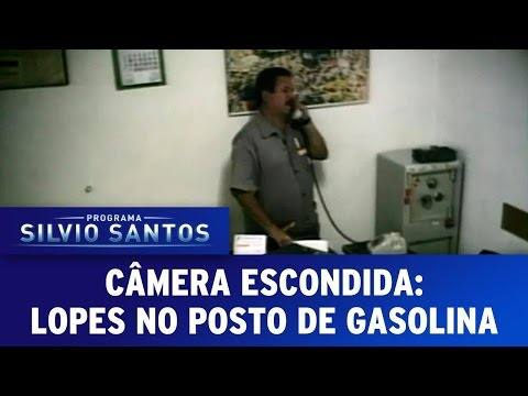 Câmera Escondida (01/05/16) - Lopes no Posto de Gasolina