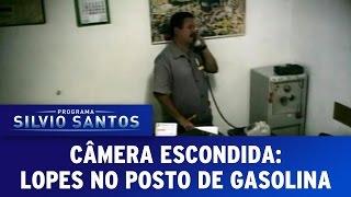 Câmera Escondida (01/05/16) - Lopes no Posto de Gasolina