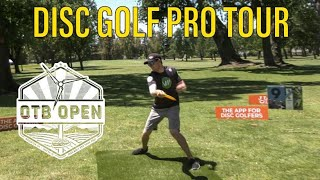 BACK ON THE DISC GOLF PRO TOUR!! (OTB Open practice round)