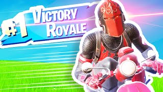 Fortnite RED KNIGHT Victory Royale! (Road to 200 Wins)