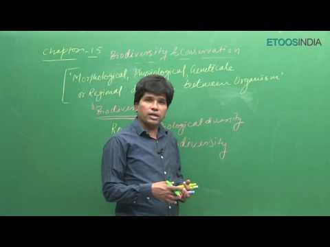 NEET I Biology I Biodiversity and conservation I Mohd. Asad Qureshi  (MAQ) Sir from ETOOSINDIA.COM