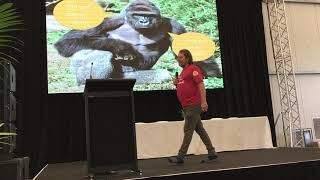 """""""Words, Sales and Comedy"""" Jason Carstens (MC and VP of WVD and VP of VegVic) at WVD Melbourne 2018"""