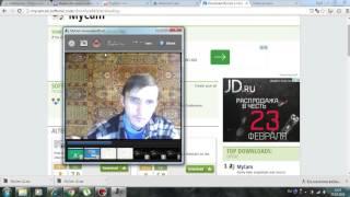 Как записать видео с камеры ноутбука(Из ролика вы узнаете как записать видео со встроенной камеры ноутбука. Скачать - http://mycam.en.softonic.com/, 2016-02-25T12:29:27.000Z)