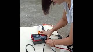 휴대용 고압 물펌프 가정용 세차 에어컨 청소 워터건