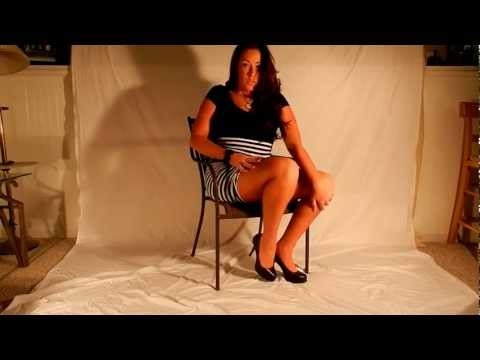 Ebony babe blow job