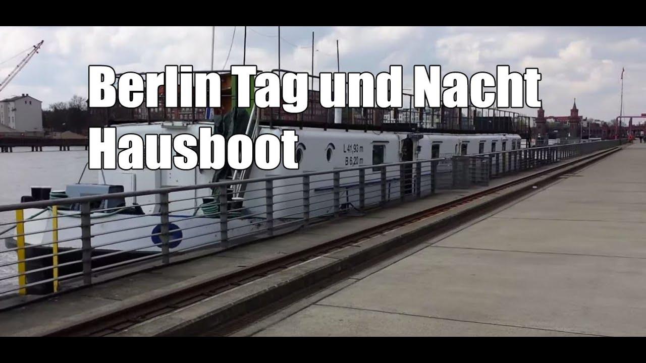 hausboot berlin tag und nacht
