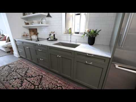 Interior Design — Narrow & Timeless Rowhouse Kitchen Design Makeover