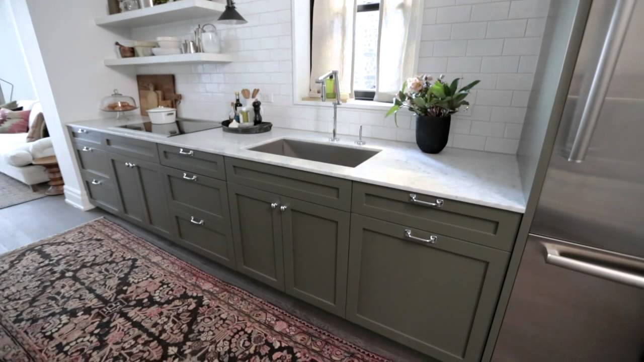 Interior Design Narrow Timeless Rowhouse Kitchen Design Makeover Youtube