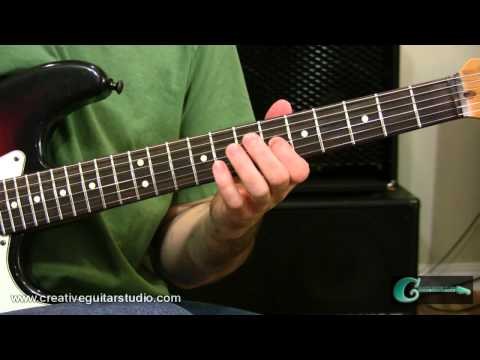 GUITAR THEORY: Along the Neck Scale Patterns