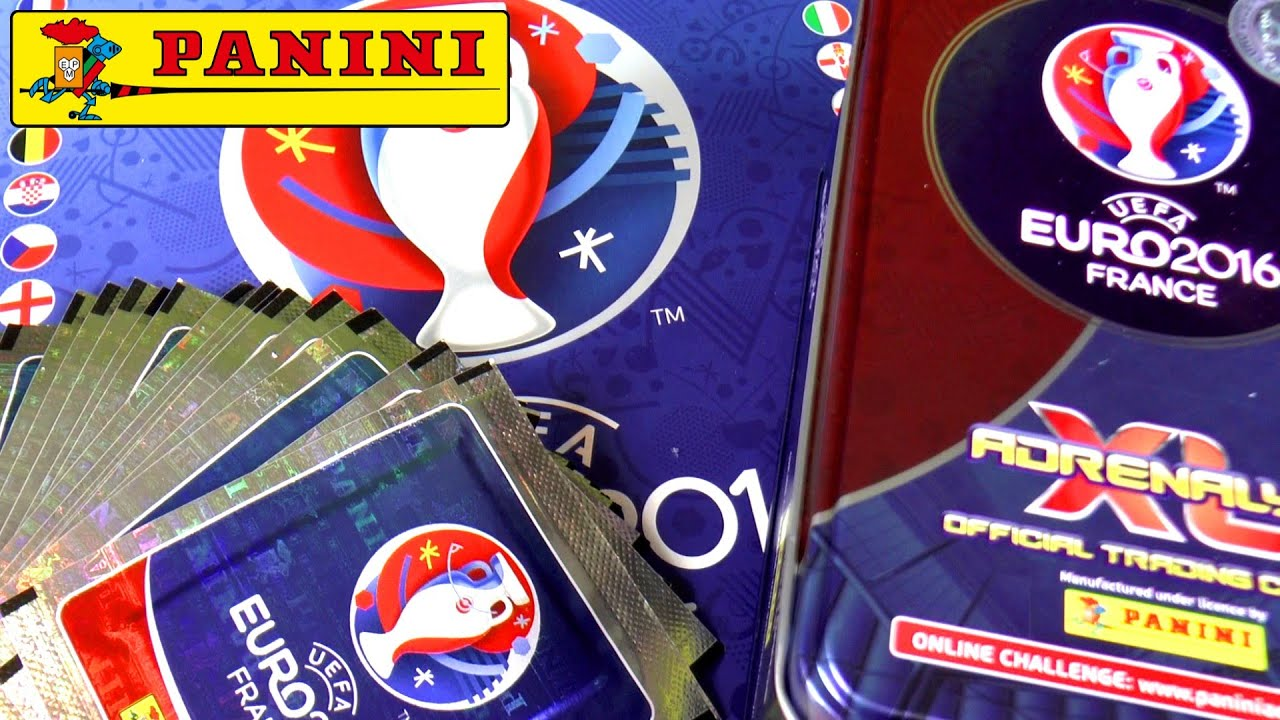 panini euro 2016 adrenalyn xl box on complete l 39 album funnycat tv. Black Bedroom Furniture Sets. Home Design Ideas