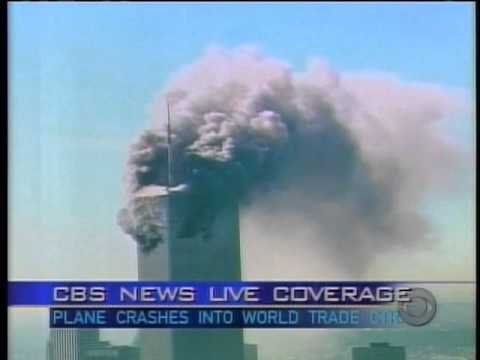 September 11 TV archive: CBS 8:52 - 9:12 a.m.
