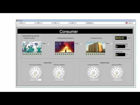 Electric Power Industry SCADA System. [Van Technologies LLC]